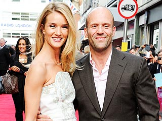 Star Tracks: Star Tracks: Tuesday, June 18, 2013 | Jason Statham, Rosie Huntington-Whiteley