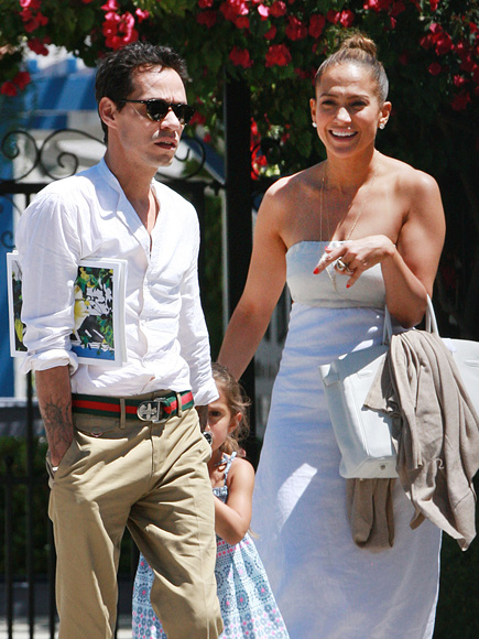 'EX' FACTOR photo | Jennifer Lopez, Marc Anthony