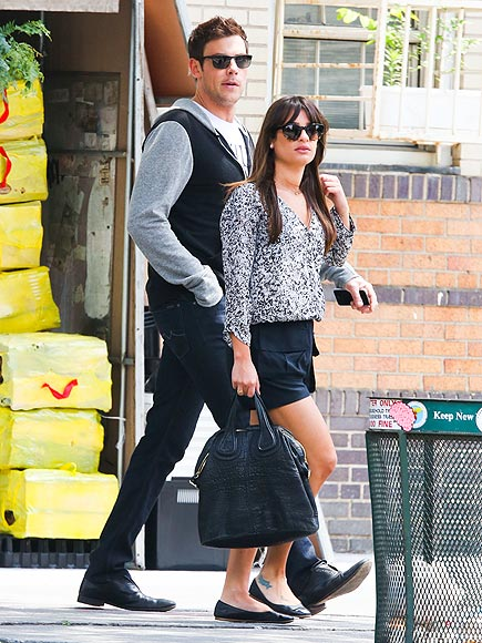 GRAY DAY photo | Cory Monteith, Lea Michele