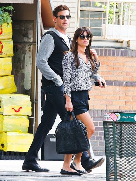 GRAY DAY photo | Cory Monteith, Lea Michele