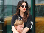 Liv & Milo Hug It Out | Liv Tyler