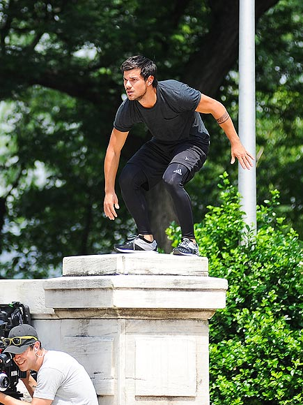 JUMP AROUND photo | Taylor Lautner