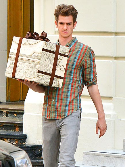 BOXED IN photo | Andrew Garfield