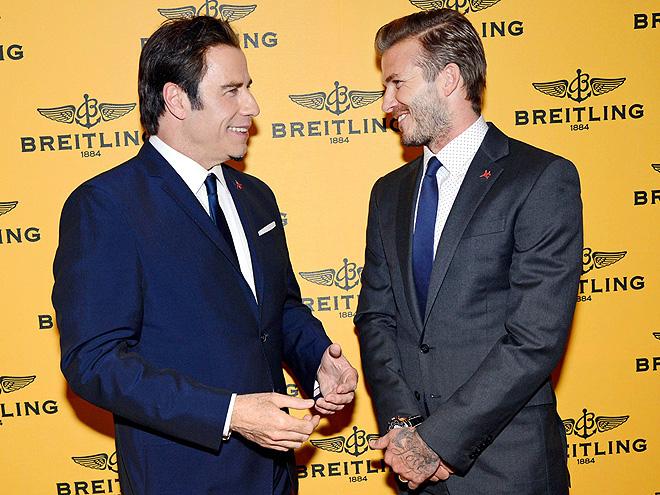 HEAD TO HEAD photo | David Beckham, John Travolta