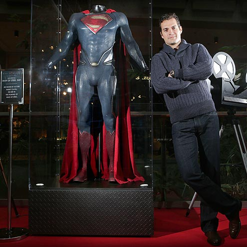 'STEEL' THE SHOW photo | Henry Cavill