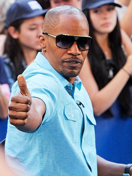 SEAL OF APPROVAL photo | Jamie Foxx