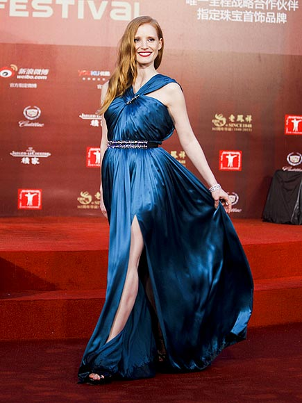 CHINA BLUE photo | Jessica Chastain