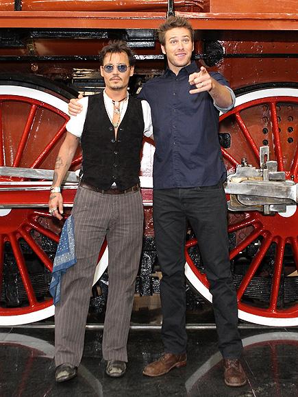POINT MAN photo | Armie Hammer, Johnny Depp