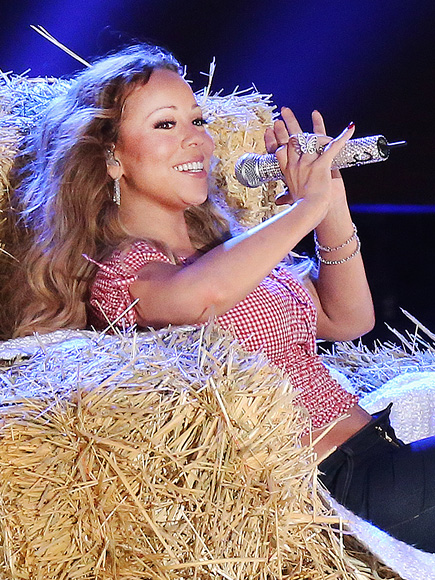 BALE-D OUT photo   Mariah Carey