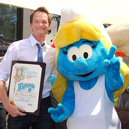 SMURFS UP photo | Neil Patrick Harris