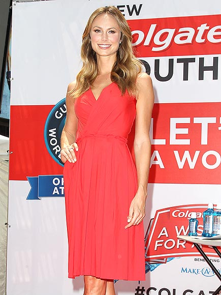 RED, WHITE & OOOH! photo | Stacy Keibler