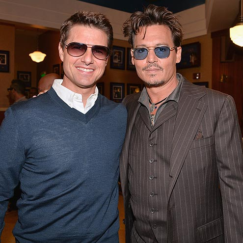 DOUBLE VISION photo | Johnny Depp, Tom Cruise