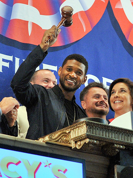 'CLOSE' CALL photo | Usher