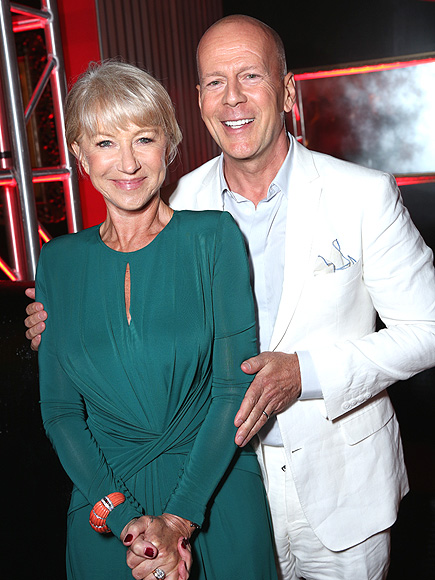 RED STREAK photo | Bruce Willis, Helen Mirren