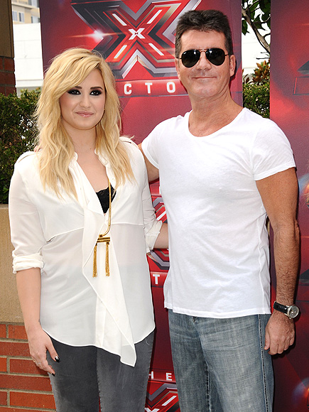 DECIDING FACTOR photo | Demi Lovato, Simon Cowell