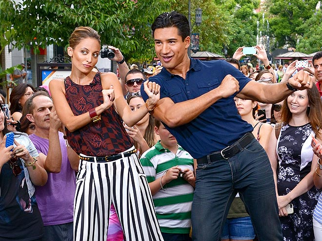 SMOOTH MOVES photo | Mario Lopez, Nicole Richie