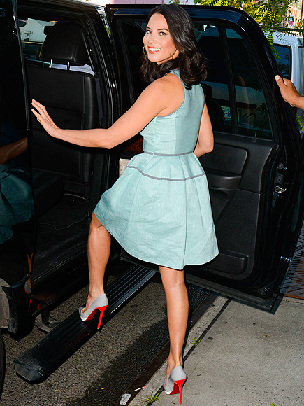 FEET FIRST photo | Olivia Munn