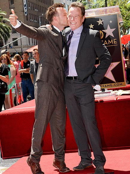 STAR POWER photo | Aaron Paul, Bryan Cranston