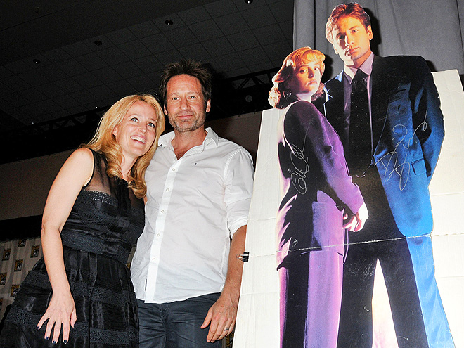 'X' FACTOR photo | David Duchovny, Gillian Anderson