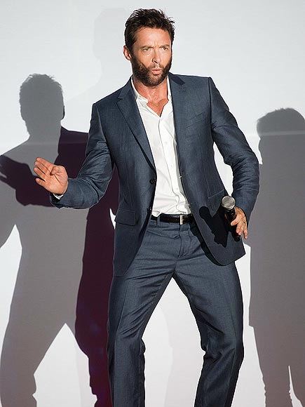 SHADOWY FIGURE photo | Hugh Jackman