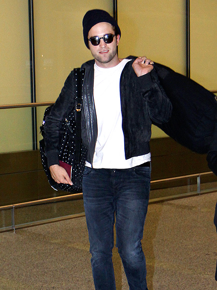TRAVELIN' MAN photo   Robert Pattinson