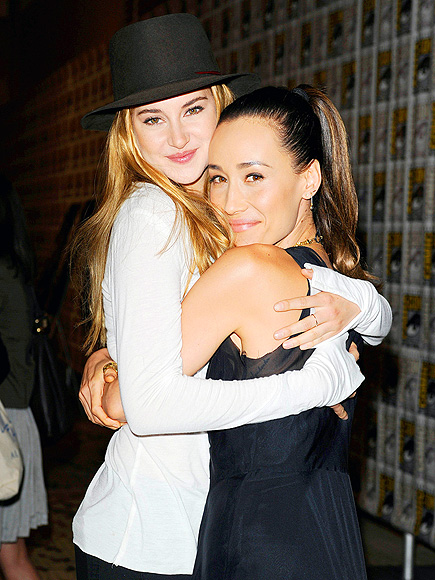 HOLD TIGHT photo | Maggie Q, Shailene Woodley