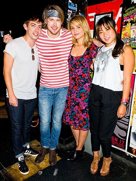 SUPPORT SYSTEM photo | Chord Overstreet, Dianna Agron, Jenna Ushkowitz