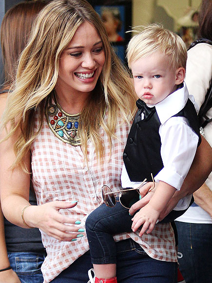 SUCH A BIG BOY! photo | Hilary Duff