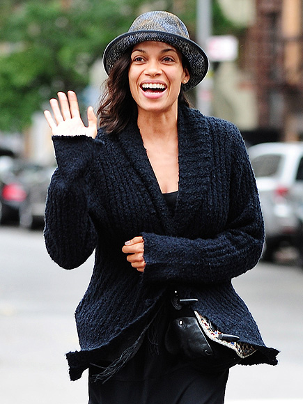 SWEATER WEATHER photo | Rosario Dawson