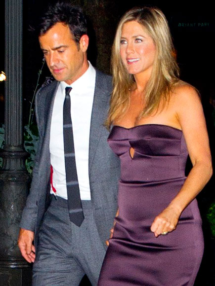STEP TO IT photo | Jennifer Aniston, Justin Theroux