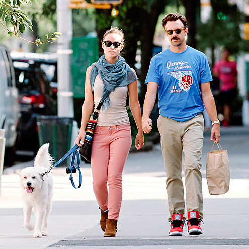 WALK IT OUT photo | Jason Sudeikis, Olivia Wilde