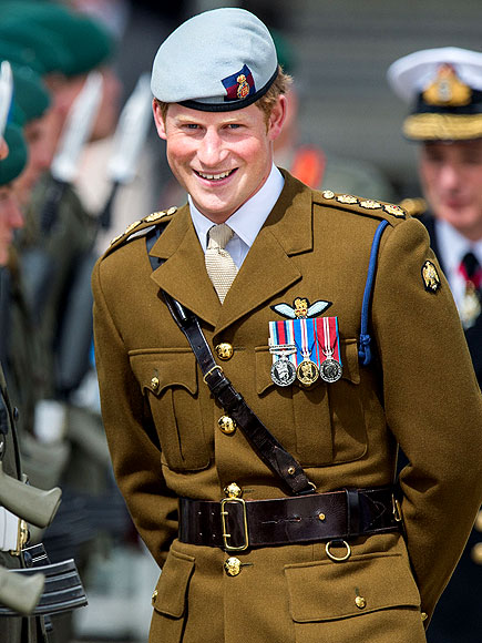 NAVAL GAZING photo | Prince Harry