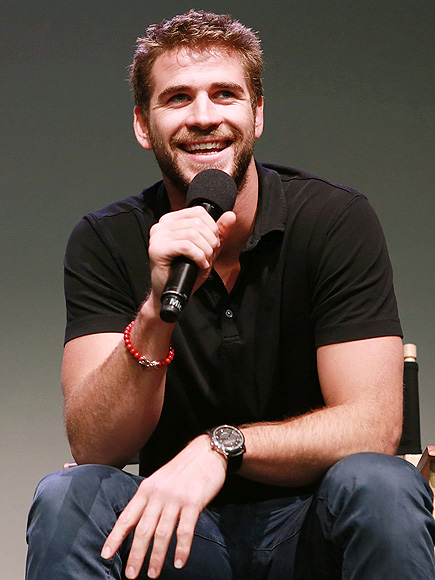 TALK THAT TALK photo | Liam Hemsworth