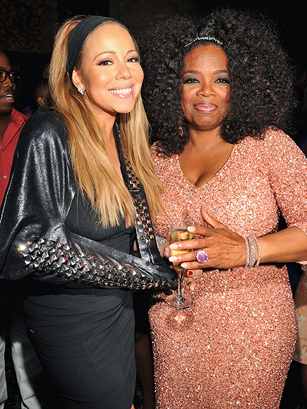 RAISE A GLASS photo | Mariah Carey, Oprah Winfrey