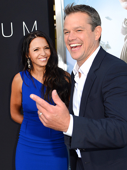 LAUGH-IN photo | Luciana Barroso, Matt Damon