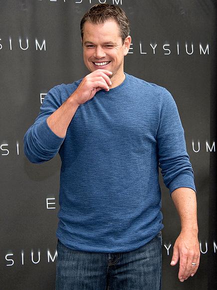 THE THINKER photo | Matt Damon