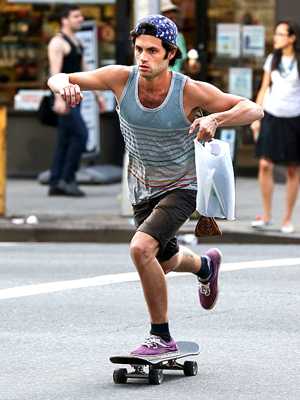 VERY BOARD photo | Penn Badgley