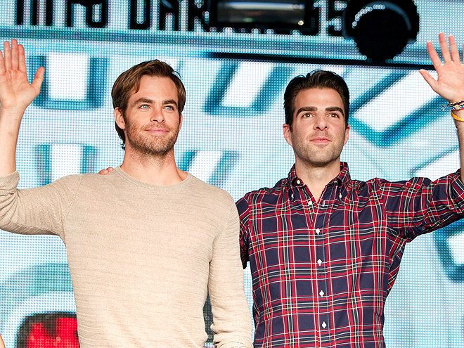 'STAR' SEARCH photo | Chris Pine, Zachary Quinto
