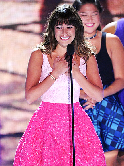 SUPPORT SYSTEM  photo   Lea Michele