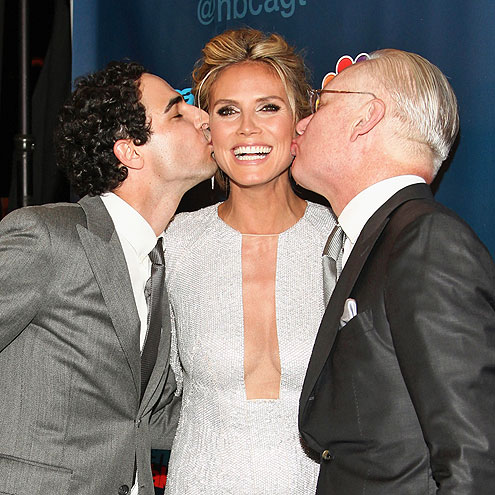 DOUBLE TROUBLE photo | Heidi Klum, Tim Gunn, Zac Posen
