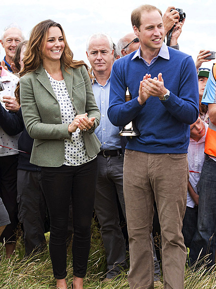 OFF TO THE RACES photo | Kate Middleton, Prince William