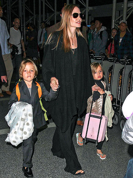 FLIGHT PATTERN photo | Angelina Jolie