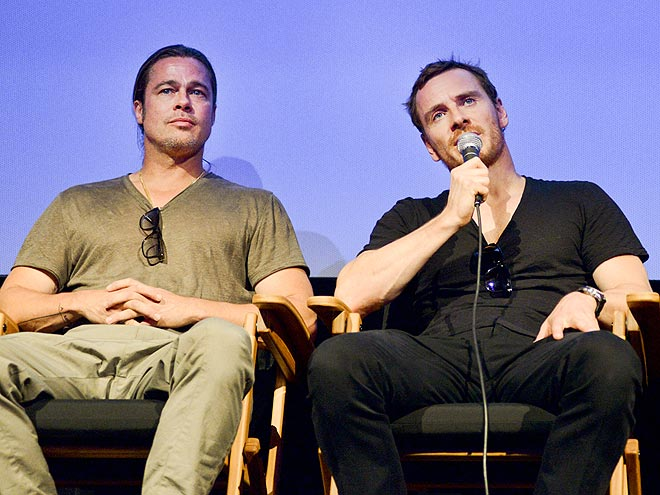CHAT ROOM photo | Brad Pitt, Michael Fassbender
