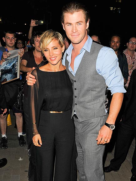 SPOUSAL SUPPORT photo | Chris Hemsworth, Elsa Pataky