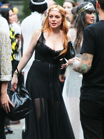 BLACK IN ACTION photo | Lindsay Lohan