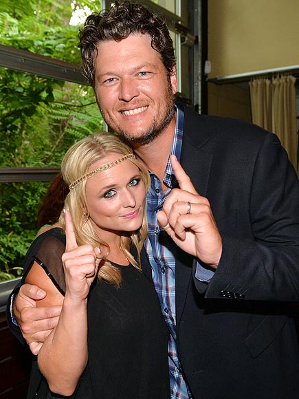 GOING FIRST photo | Blake Shelton, Miranda Lambert