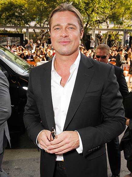 PITT STOP photo | Brad Pitt