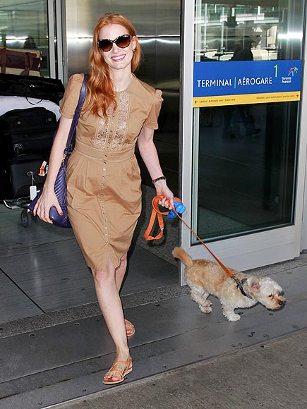 FUR'S FLYING photo | Jessica Chastain