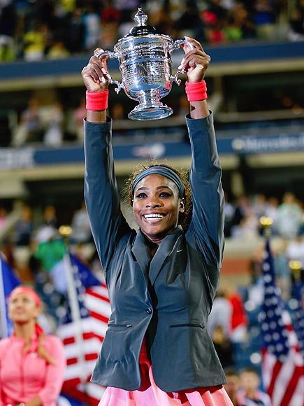 SHE'S A WINNER! photo | Serena Williams