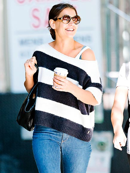SWEATER WEATHER photo | Katie Holmes